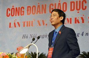 Chủ tịch Công đoàn Giáo dục Việt Nam Vũ Minh Đức