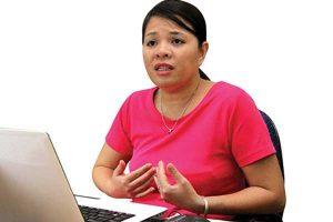 """Tiến sĩ Vũ Thu Hương cực lực lên án hành động ép học sinh """"đấu tố"""" của hiệu trưởng trường THCS Duy Ninh sau khi diễn ra vụ cô giáo phạt học sinh 231 cái tát."""
