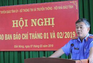 Ông Phan Thanh Hải - Phó viện trưởng Viện KSND tỉnh Đắk Nông