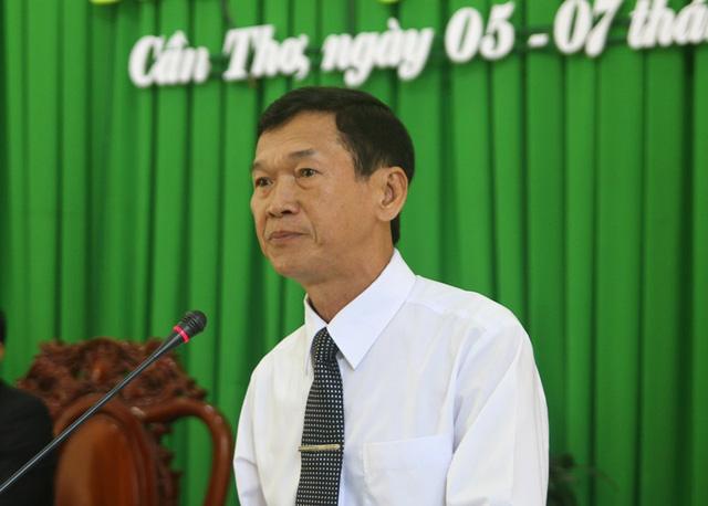 Ông Nguyễn Thanh Thiên - Chánh án TAND TP Cần Thơ