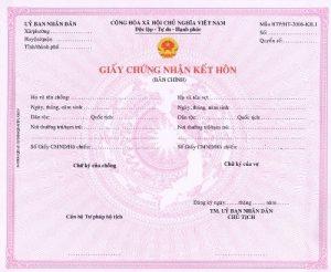 Giấy đăng ký kết hôn sẽ được lấy sau 7-10 ngày