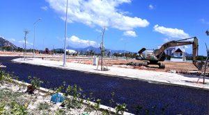 Một góc dự án Khu dân cư phía Bắc đường Nguyễn Văn Cừ