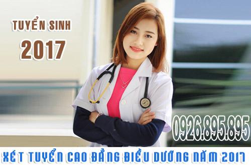 Xét tuyển Cao đẳng Điều dưỡng năm 2017 tại Trường Cao đẳng Y Dược Pasteur
