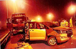 Hiện trường vụ tai nạn làm 4 người tử vong