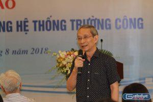 Theo thầy Nguyễn Xuân Khang, chủ trương 5 năm tới nếu không tuyển giáo viên dạy tiểu học có trình độ trung cấp, cao đẳng là không khả thi