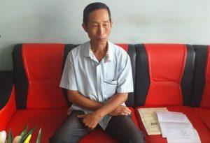 Ông Phan Văn Pha đang trình bày nội dung sự việc