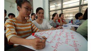 Lớp tập huấn tích hợp sinh học trong giảng dạy toán THCS tại TP.HCM