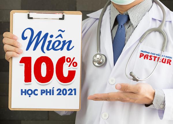 Trường Cao đẳng Y Dược Pasteur miễn 100% học phí Cao đẳng Y Dược HCM năm 2021