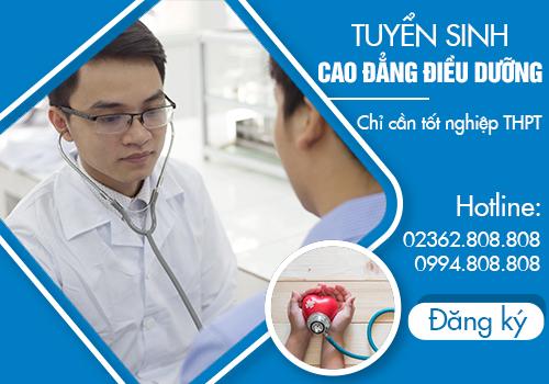 Điều kiện tham gia xét tuyển Cao đẳng Điều dưỡng Đà Nẵng năm 2018