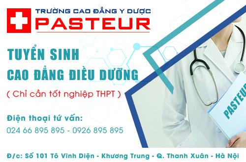 Tuyển sinh Cao đẳng Điều dưỡng - Trường Cao đẳng Y Dược Pasteur