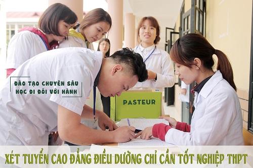 Học Cao đẳng Điều dưỡng ở địa chỉ nào tại Hà Nội?