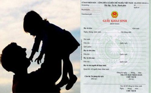 Có được lầm giấy khai sinh cho con khi cha mẹ chưa đăng ký kết hôn