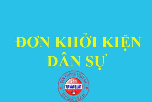 mau-don-khoi-kien-dan-su
