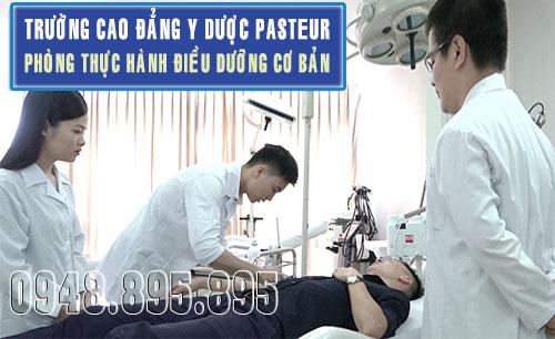 Trường Cao đẳng Y Dược Pasteur tuyển sinh Cao đẳng Điều dưỡng năm 2017