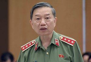 Thượng tướng Tô Lâm, Bộ trưởng Công an